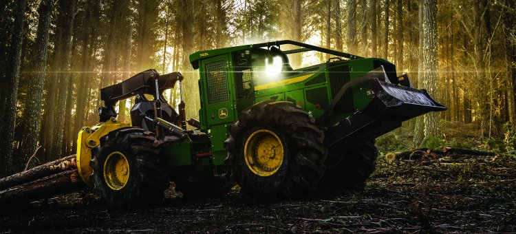 John Deere Introduces the Game-Changing L-Series Skidders ...