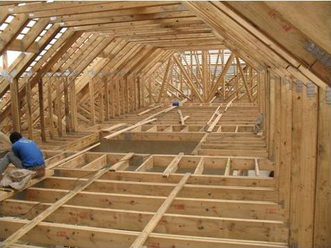 The benefits of pre fabricated timber roof trusses for Pre made roof trusses