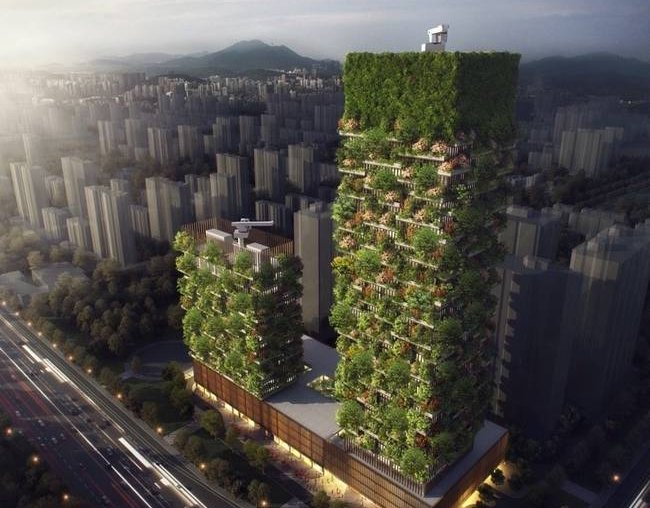 Vertical Forest China