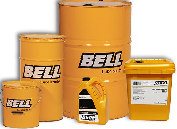 Bell Lubricants - the lifeblood of your machine