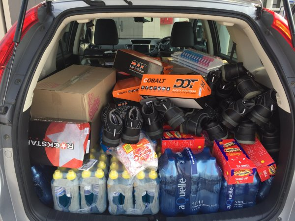 Lonza Employee Responds to Knysna Fire Relief Aid Efforts