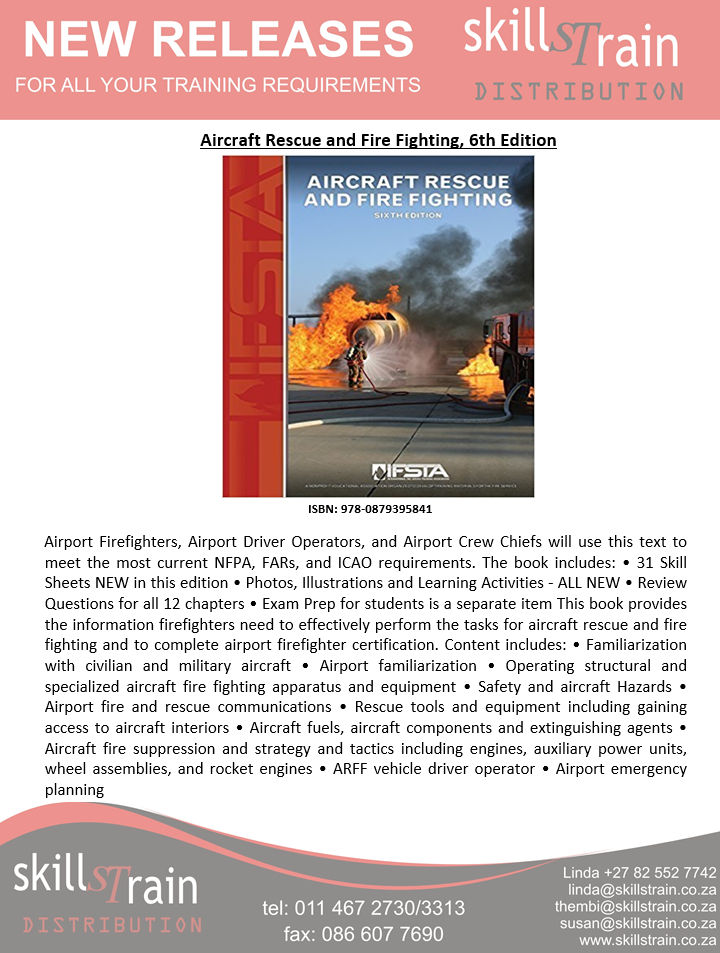 Aircraft Rescue and Fire Fighting - SkillsTrain Distribution