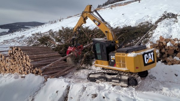 Caterpillar launches new forest machines