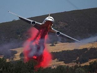 Autonomous air tankers for firefighting?