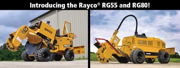Rayco Introduces New Stump Cutter Models, Trailer