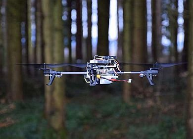 UAVs and big data are changing fibre supply