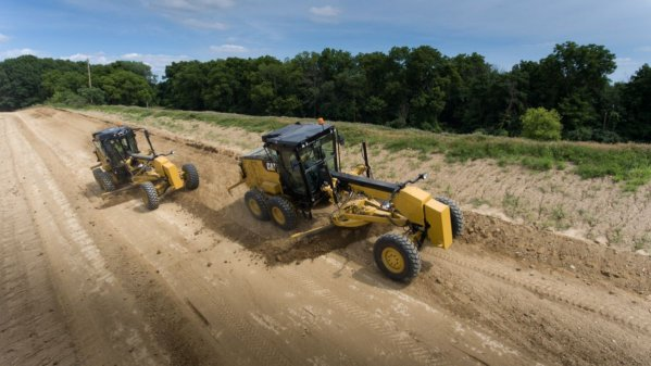 New next generation CAT® 120 motor grader designed to elevate production and lower costs