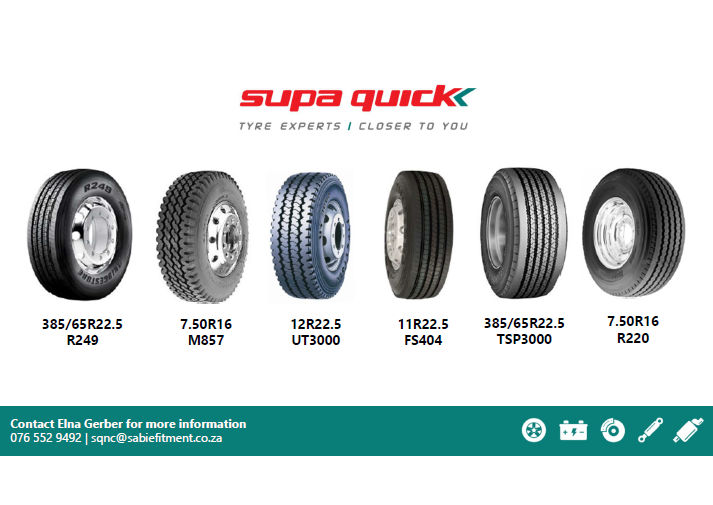 Supa Quick -- Tyres